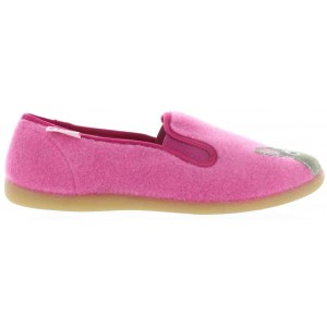 Boiled wool slippers for girls orthopedic