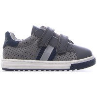 Runter Gray - Sneakers for Boy with Good Leather and Fit