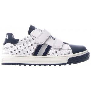 Sneakers for children in gray leather