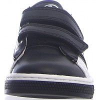 Runter White - Leather Sneakers for Boys or Girls