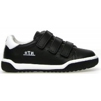 Sandor Black - Durable Kids Shoes made with Natural Leather