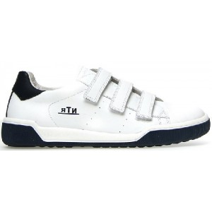 Shoes with good support made with white leather