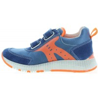 Porter Blue - Sneakers with Ankle Support Orthopedic
