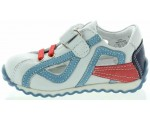 Kids sneakers best foot support in white leather