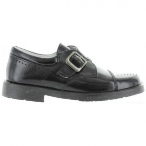 Dress shoes for a boy from Spain in black leather