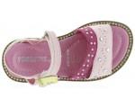 Pink sandals for girls Italian designer