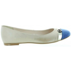 Ballerina shoes for women in beige from Europe