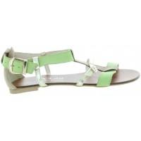 Lama Green - Fashion European made Sandals for Women