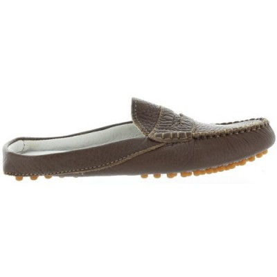 Brown clogs for girls by Primigi