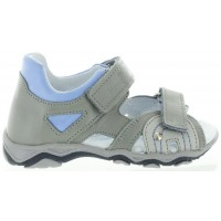 Vermont Gray - Closed back Boys Ankle Sandals