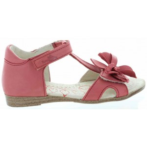 Girls made with quality leather ortapedic sandals