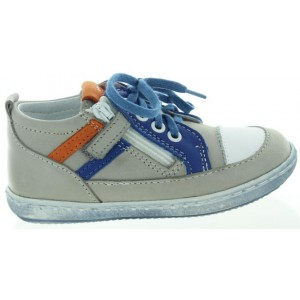 Walking shoes for a child with soft leather