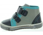Boys leather ankle high boots