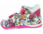 Shoes for girl with proper ankle support.