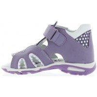 Bilans Lavender - Extra Wide High Top Sandals for New Walkers