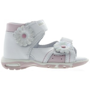 Sandals new walkers in white leather
