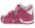 Sandals for kids natural leather