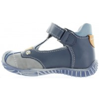 Kuba Blue - Shoes for Boy with Wide Feet