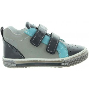 Leather high tops for boys