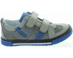 Gray shoes for a boy with ortho support