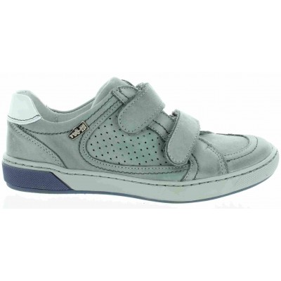 Leather orthopedic shoes for boys with high support