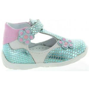 Girls closed back orthopedic shoes