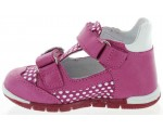 Toddler girls shoes with high instep that are double wide