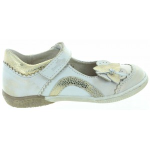 Shoes with best arch support in gold leather