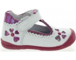 High top white baby supportive shoes