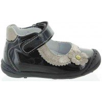 Friza Black - Baby Girl Leather Shoes