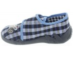 Baby with ankle support  walking slippers