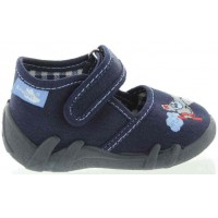 Saratoga Navy - House shoes for Baby Learning to Walk