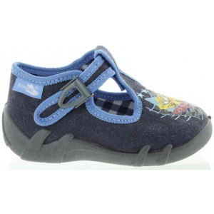Child slippers with ankle support