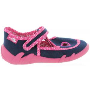 Navy color house shoes for girls with good arch