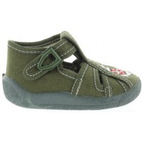 Kotwica Olive - Ankles Turning Best  toddler House Shoes
