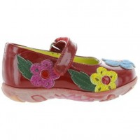 Brazia Red - Supportive shoes Toddler from Italy