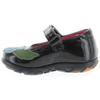 Brazia Black - Pigeon Footed Toddler Fix Shoes