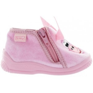 Ankle support house slippers for toddler girls that are wide width