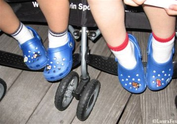 Children crocks summer footwear