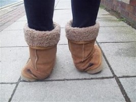 Ankle pronation causing UGG winter boots for kids