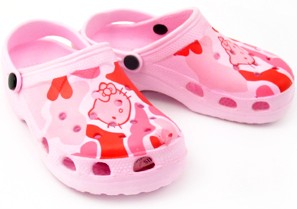 Crocks rubber footwear for toddlers